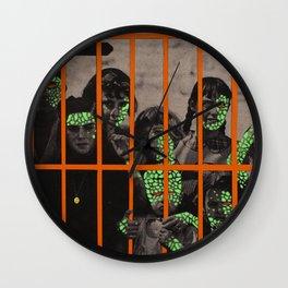 Plague kids Wall Clock