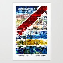 Superclásico  Art Print