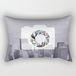 Capture the City Rectangular Pillow