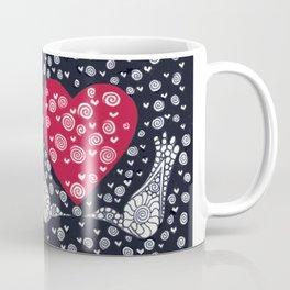 Valentine Birds Coffee Mug