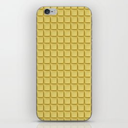 Just white chocolate / 3D render of white chocolate iPhone Skin