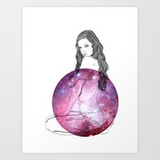 We Are All Made of Stardust #3 Art Print