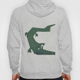 Snapping vintage Alligator Hoody