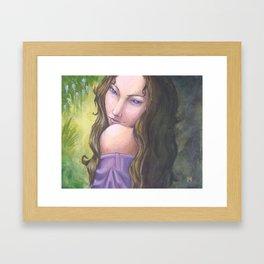 Spring Queen Framed Art Print