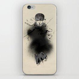 Style outside, man inside iPhone Skin