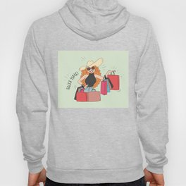 Shopping Lady - Cyber Monday Sale Time Hoody