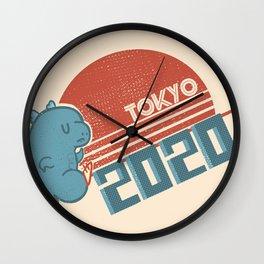 Tokyo 2020 Wall Clock