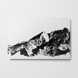 Mountains I Metal Print