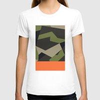swedish T-shirts featuring Swedish m90 Camo by Derek Boman