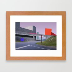 Constructed S6 Framed Art Print