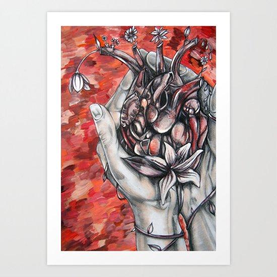 You're All Heart  Art Print