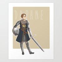dark souls Art Prints featuring Dark Souls- Daphne by mio-mio