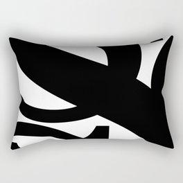 Hidden Letters. Baskerville S Rectangular Pillow