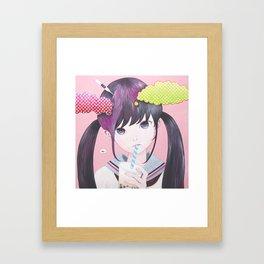 「Sweet Boredom」 Framed Art Print