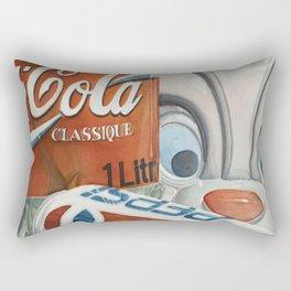 Crazy cookiejar Rectangular Pillow