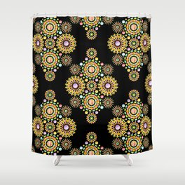 Sorbet Fireworks Shower Curtain