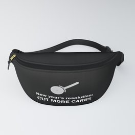 New Years Cut Carbs Fanny Pack