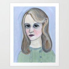 Colossus of Plath, Sylvia Plath Literary Portrait Art Print