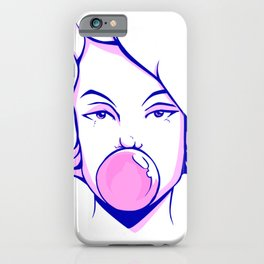 Snap It Girl iPhone Case