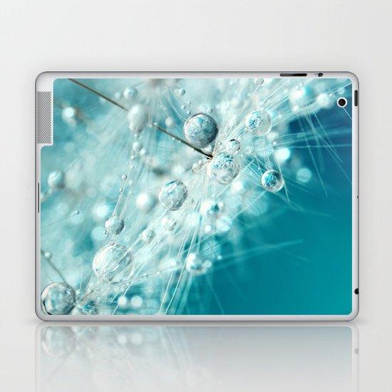 Dandy Starburst in Blue Laptop & iPad Skin