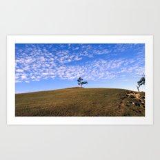 Tree on the island of Olkhon Art Print