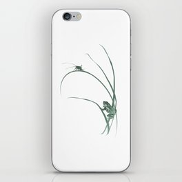 Frog & Cricket iPhone Skin
