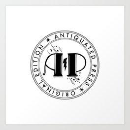 AP Chop light Art Print