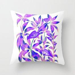 Ultraviolet Nature Throw Pillow
