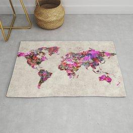 World Map 47 Rug