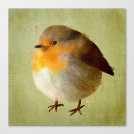 Chubby Bird Canvas Print