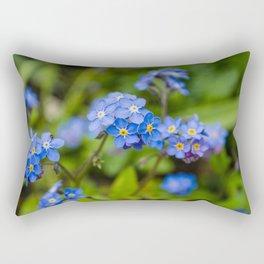 Forget-Me-Nots 1 Rectangular Pillow