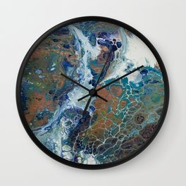 Other Worlds II Wall Clock