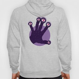 Weird Hand With Watching Eyes Hoody