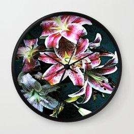 Lilium IV Wall Clock