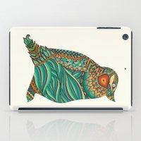 ethnic iPad Cases featuring Ethnic Penguin by Pom Graphic Design
