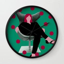 Seat girl II Wall Clock
