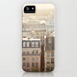 Dans Mon Reve de Paris iPhone Case