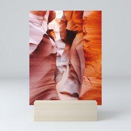 Twist and Turn Slot Canyon Mini Art Print