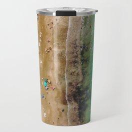 Coral Split Travel Mug