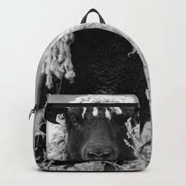 Sheep with sharp eyes Backpack