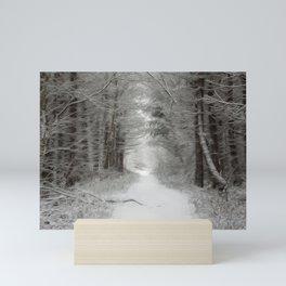 Winter woodlands Mini Art Print