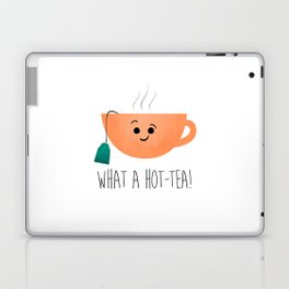 What A Hot-Tea Laptop & iPad Skin
