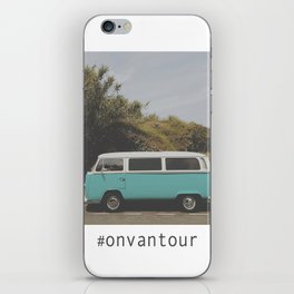 #onvantour iPhone Skin