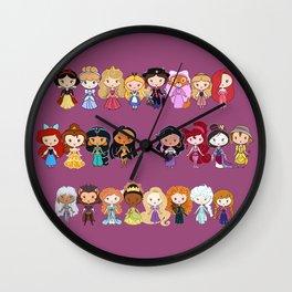 Lotsa Lil' CutiEs! Wall Clock