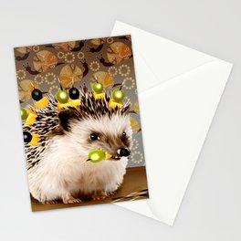 Hedgehog Sticks Stationery Cards
