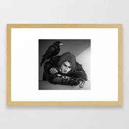 Rooks Framed Art Print