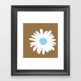 STATIONERY CARD - Daisy #1 Framed Art Print