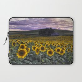 Summertime Sunflowers Laptop Sleeve