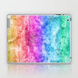Multicolor aguarelle shine Laptop & iPad Skin