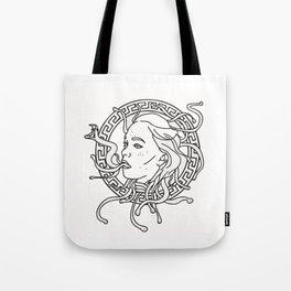 Annie Medusa Tote Bag